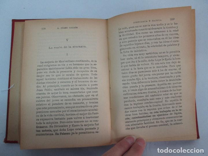 Libros antiguos: NOVELAS ESPAÑOLAS CONTEMPORANEAS. BENITO PEREZ GALDOS. 13 EJEMPLARES. VER FOTOGRAFIAS - Foto 16 - 99878947