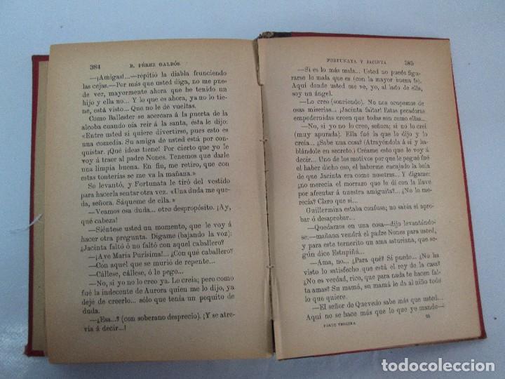 Libros antiguos: NOVELAS ESPAÑOLAS CONTEMPORANEAS. BENITO PEREZ GALDOS. 13 EJEMPLARES. VER FOTOGRAFIAS - Foto 17 - 99878947