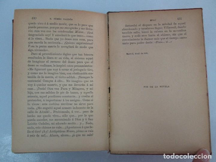 Libros antiguos: NOVELAS ESPAÑOLAS CONTEMPORANEAS. BENITO PEREZ GALDOS. 13 EJEMPLARES. VER FOTOGRAFIAS - Foto 26 - 99878947