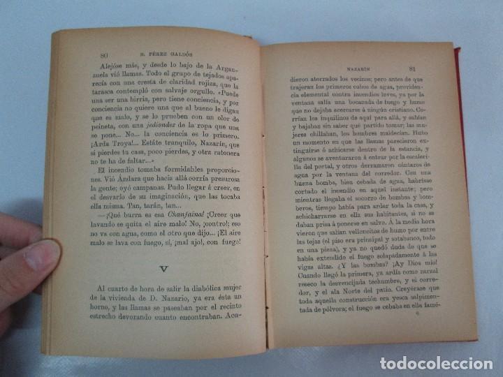 Libros antiguos: NOVELAS ESPAÑOLAS CONTEMPORANEAS. BENITO PEREZ GALDOS. 13 EJEMPLARES. VER FOTOGRAFIAS - Foto 33 - 99878947