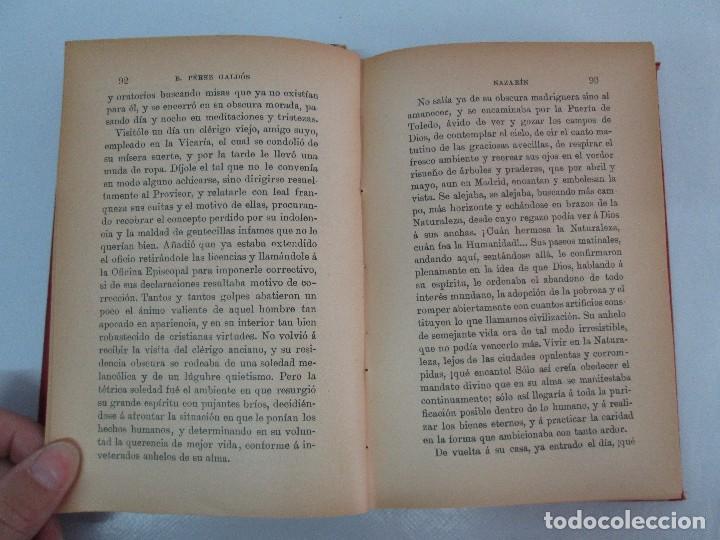 Libros antiguos: NOVELAS ESPAÑOLAS CONTEMPORANEAS. BENITO PEREZ GALDOS. 13 EJEMPLARES. VER FOTOGRAFIAS - Foto 34 - 99878947