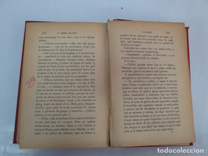 Libros antiguos: NOVELAS ESPAÑOLAS CONTEMPORANEAS. BENITO PEREZ GALDOS. 13 EJEMPLARES. VER FOTOGRAFIAS - Foto 36 - 99878947