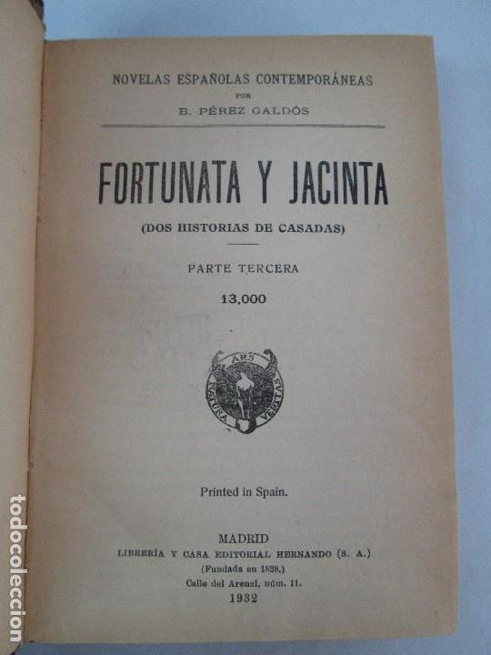 Libros antiguos: NOVELAS ESPAÑOLAS CONTEMPORANEAS. BENITO PEREZ GALDOS. 13 EJEMPLARES. VER FOTOGRAFIAS - Foto 42 - 99878947