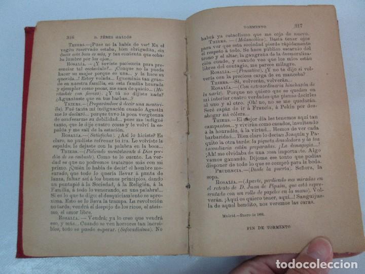 Libros antiguos: NOVELAS ESPAÑOLAS CONTEMPORANEAS. BENITO PEREZ GALDOS. 13 EJEMPLARES. VER FOTOGRAFIAS - Foto 67 - 99878947
