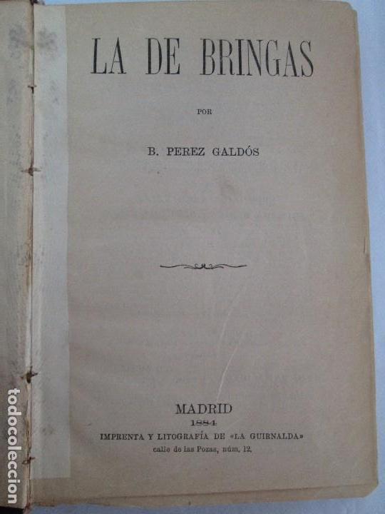 Libros antiguos: NOVELAS ESPAÑOLAS CONTEMPORANEAS. BENITO PEREZ GALDOS. 13 EJEMPLARES. VER FOTOGRAFIAS - Foto 72 - 99878947