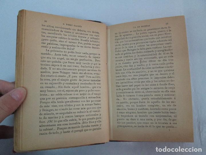 Libros antiguos: NOVELAS ESPAÑOLAS CONTEMPORANEAS. BENITO PEREZ GALDOS. 13 EJEMPLARES. VER FOTOGRAFIAS - Foto 74 - 99878947