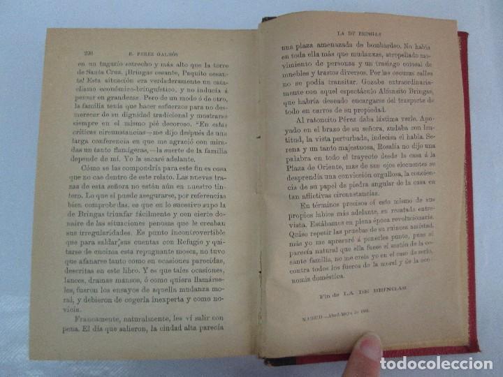 Libros antiguos: NOVELAS ESPAÑOLAS CONTEMPORANEAS. BENITO PEREZ GALDOS. 13 EJEMPLARES. VER FOTOGRAFIAS - Foto 76 - 99878947