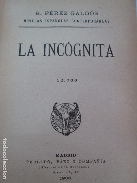 Libros antiguos: NOVELAS ESPAÑOLAS CONTEMPORANEAS. BENITO PEREZ GALDOS. 13 EJEMPLARES. VER FOTOGRAFIAS - Foto 88 - 99878947