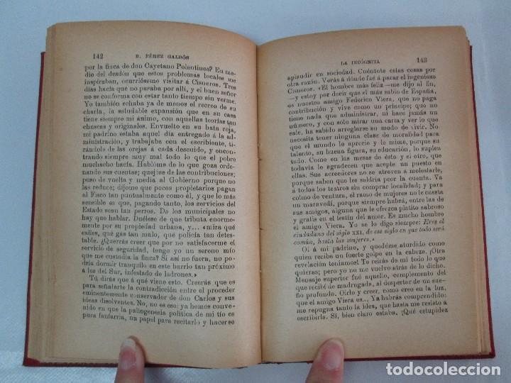 Libros antiguos: NOVELAS ESPAÑOLAS CONTEMPORANEAS. BENITO PEREZ GALDOS. 13 EJEMPLARES. VER FOTOGRAFIAS - Foto 91 - 99878947