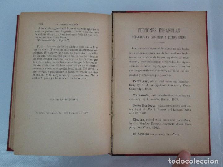 Libros antiguos: NOVELAS ESPAÑOLAS CONTEMPORANEAS. BENITO PEREZ GALDOS. 13 EJEMPLARES. VER FOTOGRAFIAS - Foto 92 - 99878947