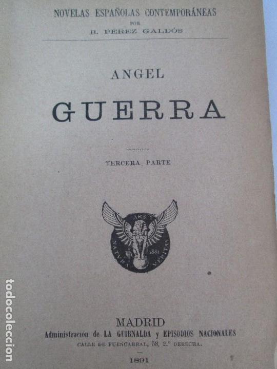 Libros antiguos: NOVELAS ESPAÑOLAS CONTEMPORANEAS. BENITO PEREZ GALDOS. 13 EJEMPLARES. VER FOTOGRAFIAS - Foto 96 - 99878947