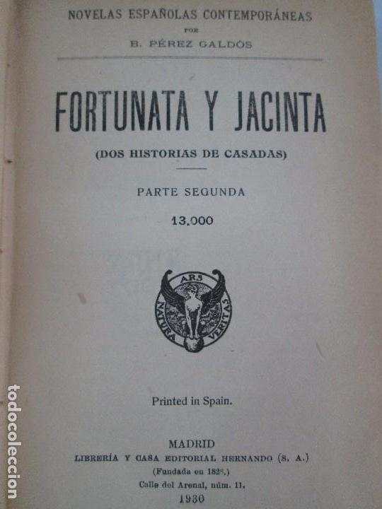 Libros antiguos: NOVELAS ESPAÑOLAS CONTEMPORANEAS. BENITO PEREZ GALDOS. 13 EJEMPLARES. VER FOTOGRAFIAS - Foto 104 - 99878947