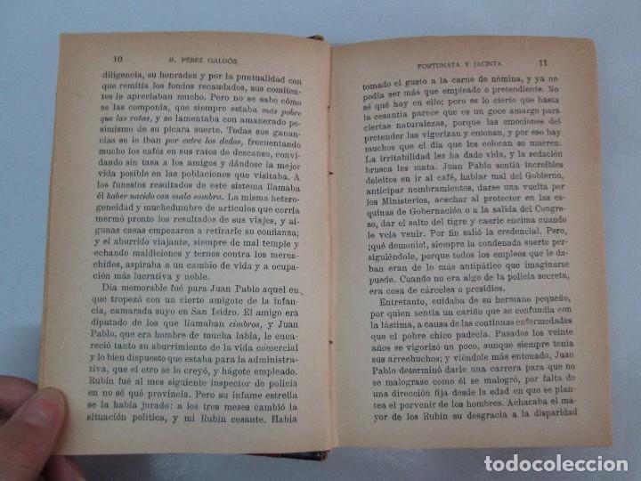Libros antiguos: NOVELAS ESPAÑOLAS CONTEMPORANEAS. BENITO PEREZ GALDOS. 13 EJEMPLARES. VER FOTOGRAFIAS - Foto 105 - 99878947