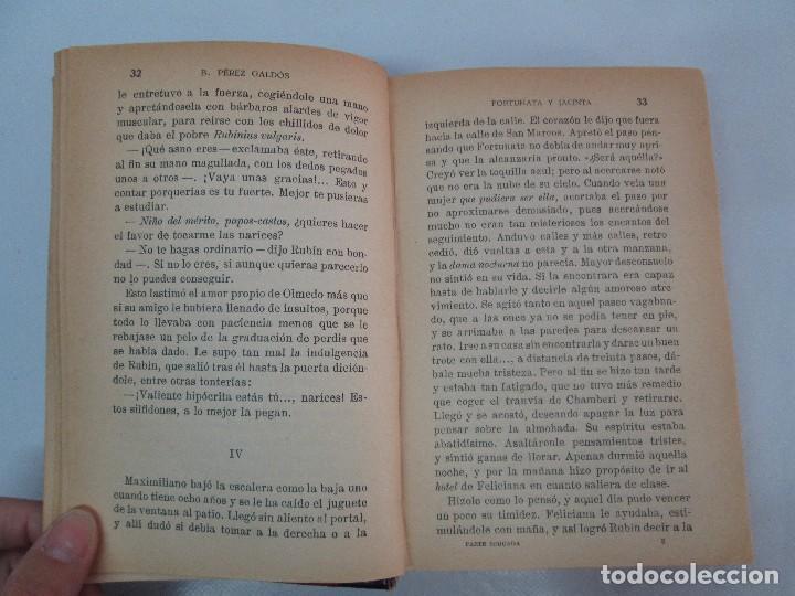 Libros antiguos: NOVELAS ESPAÑOLAS CONTEMPORANEAS. BENITO PEREZ GALDOS. 13 EJEMPLARES. VER FOTOGRAFIAS - Foto 106 - 99878947