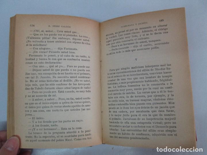 Libros antiguos: NOVELAS ESPAÑOLAS CONTEMPORANEAS. BENITO PEREZ GALDOS. 13 EJEMPLARES. VER FOTOGRAFIAS - Foto 107 - 99878947