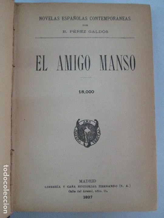 Libros antiguos: NOVELAS ESPAÑOLAS CONTEMPORANEAS. BENITO PEREZ GALDOS. 13 EJEMPLARES. VER FOTOGRAFIAS - Foto 112 - 99878947