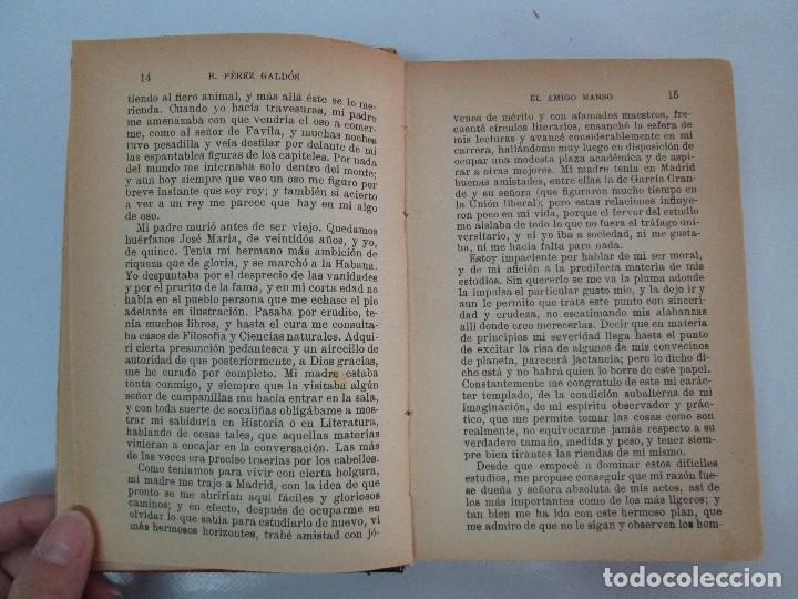 Libros antiguos: NOVELAS ESPAÑOLAS CONTEMPORANEAS. BENITO PEREZ GALDOS. 13 EJEMPLARES. VER FOTOGRAFIAS - Foto 113 - 99878947