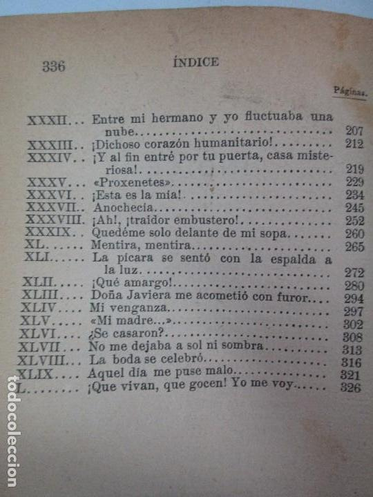 Libros antiguos: NOVELAS ESPAÑOLAS CONTEMPORANEAS. BENITO PEREZ GALDOS. 13 EJEMPLARES. VER FOTOGRAFIAS - Foto 119 - 99878947