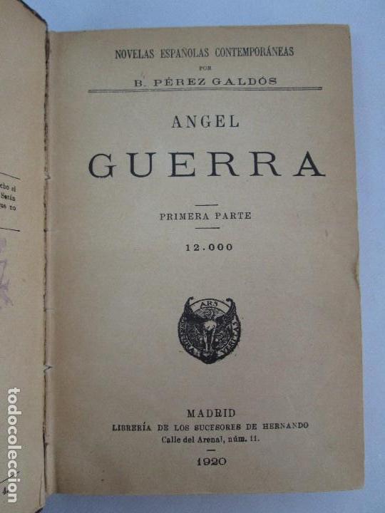 Libros antiguos: NOVELAS ESPAÑOLAS CONTEMPORANEAS. BENITO PEREZ GALDOS. 13 EJEMPLARES. VER FOTOGRAFIAS - Foto 124 - 99878947