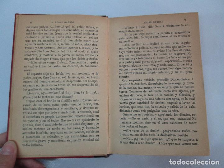 Libros antiguos: NOVELAS ESPAÑOLAS CONTEMPORANEAS. BENITO PEREZ GALDOS. 13 EJEMPLARES. VER FOTOGRAFIAS - Foto 125 - 99878947