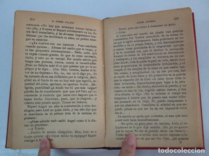 Libros antiguos: NOVELAS ESPAÑOLAS CONTEMPORANEAS. BENITO PEREZ GALDOS. 13 EJEMPLARES. VER FOTOGRAFIAS - Foto 127 - 99878947