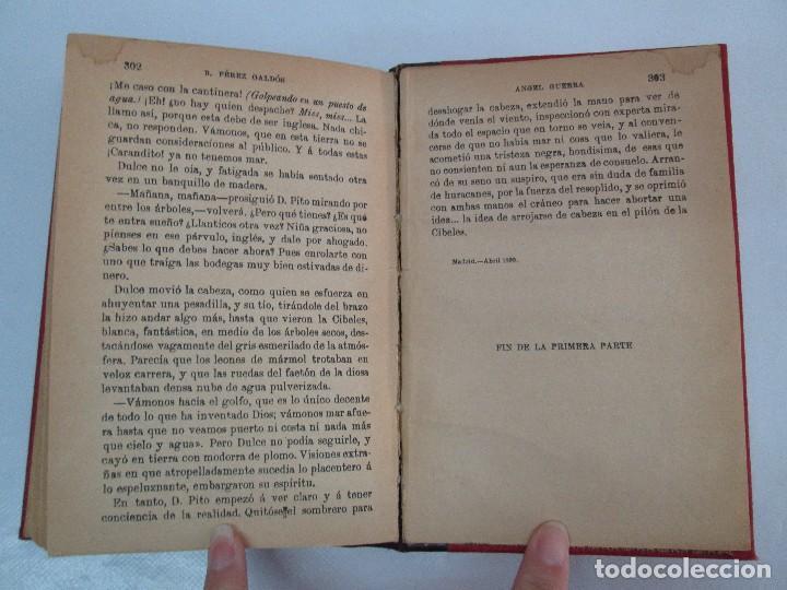 Libros antiguos: NOVELAS ESPAÑOLAS CONTEMPORANEAS. BENITO PEREZ GALDOS. 13 EJEMPLARES. VER FOTOGRAFIAS - Foto 128 - 99878947