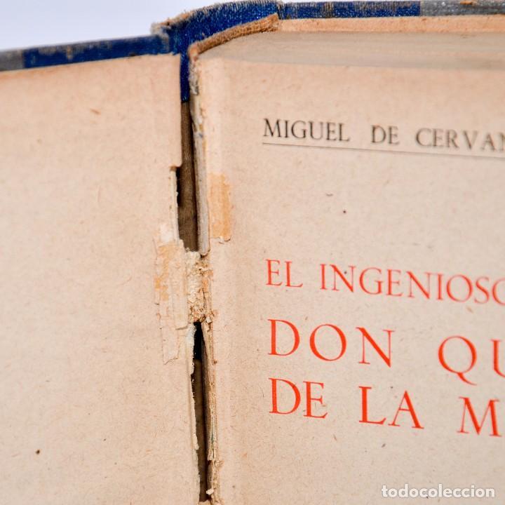 Libros antiguos: DON QUIJOTE DE LA MANCHA - EDITORIAL RAMON SOPENA 1936 - Foto 3 - 99909179
