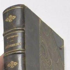 Libros antiguos: ENTREMESES - MIGUEL DE CERVANTES (1916). Lote 100028315