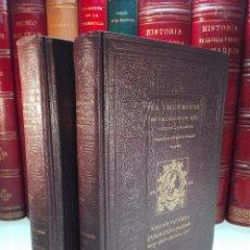 Libros antiguos: EL INGENIOSO HIDALGO DON QUIJOTE DE LA MANCHA - MIGUEL DE CERVANTES - FACSIMIL 2 TOMOS - 1608 -. Lote 100179279