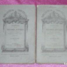 Libros antiguos: LA CELESTINA BIBLIOTECA UNIVERSAL COLECCION DE LOS MEJORES AUTORES 2 TOMOS 1872/73. Lote 100280739