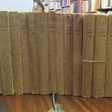 Libros antiguos: OBRAS COMPLETAS DE AMADO NERVO. BLIOTECA NUEVA MADRID. 22 VOL.. Lote 100291967