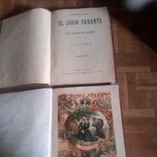 Libros antiguos: TOMO I Y II DEL JUDÍO HERRANTE SIGLO XIX. Lote 100611154