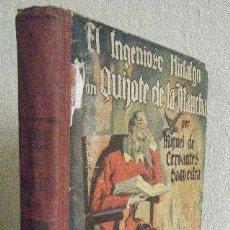 Libros antiguos: CERVANTES.- EL QUIJOTE. Lote 100622243