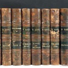 Libros antiguos: PIERRE LOTI. 9 EJEMPLARES. ÉDITEURS CALMANN-LÉVY. 1925.. Lote 100871915