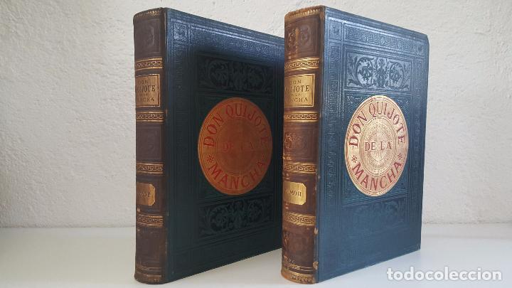 CERVANTES, DON QUIJOTE 1ª ED MONTANER Y SIMON 1880 , IL. POR BALACA Y PELLICER.ENC.LUJO SALVATELLA (Libros antiguos (hasta 1936), raros y curiosos - Literatura - Narrativa - Clásicos)