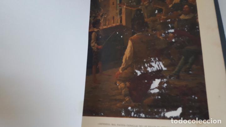 Libros antiguos: CERVANTES, DON QUIJOTE 1ª ED MONTANER Y SIMON 1880 , IL. POR BALACA Y PELLICER.enc.lujo SALVATELLA - Foto 21 - 46869693