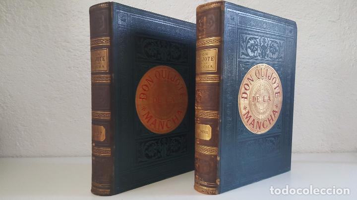Libros antiguos: CERVANTES, DON QUIJOTE 1ª ED MONTANER Y SIMON 1880 , IL. POR BALACA Y PELLICER.enc.lujo SALVATELLA - Foto 24 - 46869693