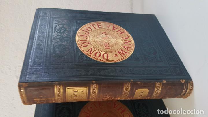 Libros antiguos: CERVANTES, DON QUIJOTE 1ª ED MONTANER Y SIMON 1880 , IL. POR BALACA Y PELLICER.enc.lujo SALVATELLA - Foto 26 - 46869693