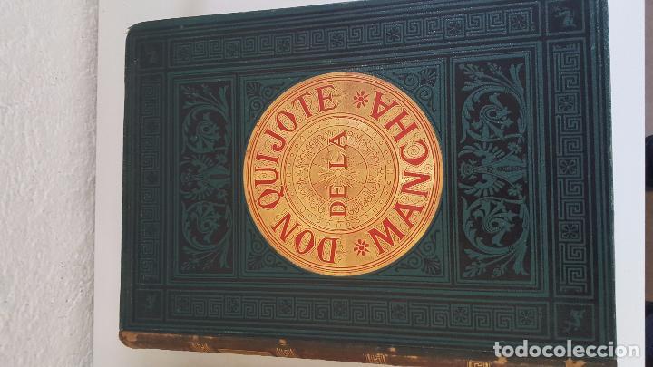 Libros antiguos: CERVANTES, DON QUIJOTE 1ª ED MONTANER Y SIMON 1880 , IL. POR BALACA Y PELLICER.enc.lujo SALVATELLA - Foto 28 - 46869693