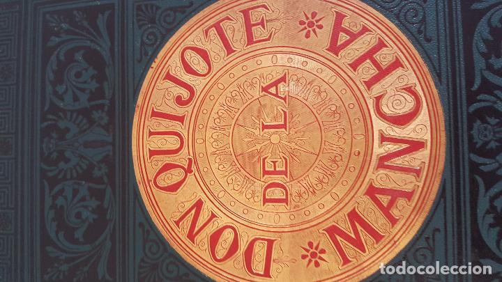 Libros antiguos: CERVANTES, DON QUIJOTE 1ª ED MONTANER Y SIMON 1880 , IL. POR BALACA Y PELLICER.enc.lujo SALVATELLA - Foto 29 - 46869693