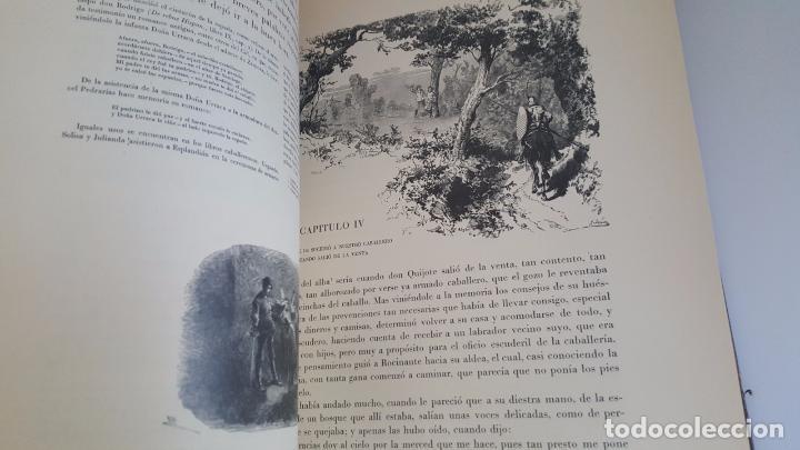 Libros antiguos: CERVANTES, DON QUIJOTE 1ª ED MONTANER Y SIMON 1880 , IL. POR BALACA Y PELLICER.enc.lujo SALVATELLA - Foto 33 - 46869693
