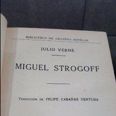 Libros antiguos: 1935.JULOO VERNE. MIGUEL STROGOFF.ED. SOPENA. Lote 101671691