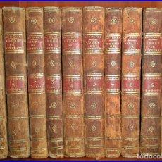 Libros antiguos: CURSO DE LITERATURA. 10 TOMOS DE 20 CM. AÑO VII DE LA REPÚBLICA.. Lote 102362619