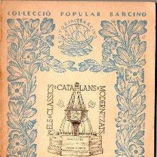 Libros antiguos: RAMON LLULL :LLIBRE D'AMIC E AMAT (1933) BARCINO - CATALÁN. Lote 102481579