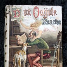 Libros antiguos: DON QUIJOTE DE LA MANCHA - CERVANTES - CALLEJA - PERLA - M. ANGEL CARRETERO - SAMPIETRO - SANTAMARIA. Lote 103121227