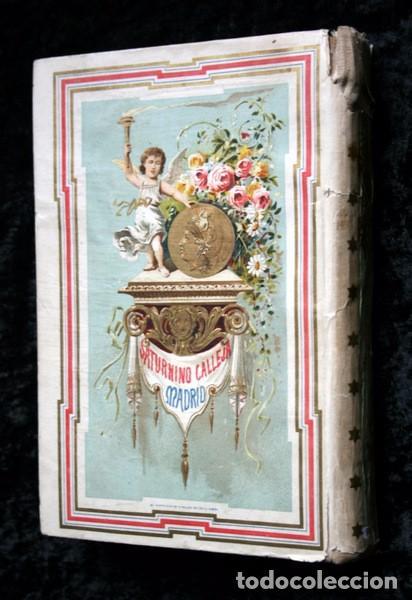 Libros antiguos: DON QUIJOTE DE LA MANCHA - CERVANTES - CALLEJA - PERLA - M. ANGEL CARRETERO - SAMPIETRO - SANTAMARIA - Foto 2 - 103121227