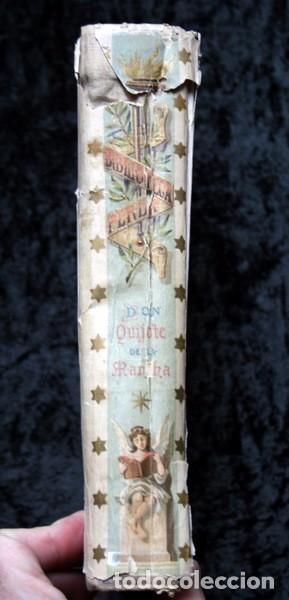 Libros antiguos: DON QUIJOTE DE LA MANCHA - CERVANTES - CALLEJA - PERLA - M. ANGEL CARRETERO - SAMPIETRO - SANTAMARIA - Foto 3 - 103121227