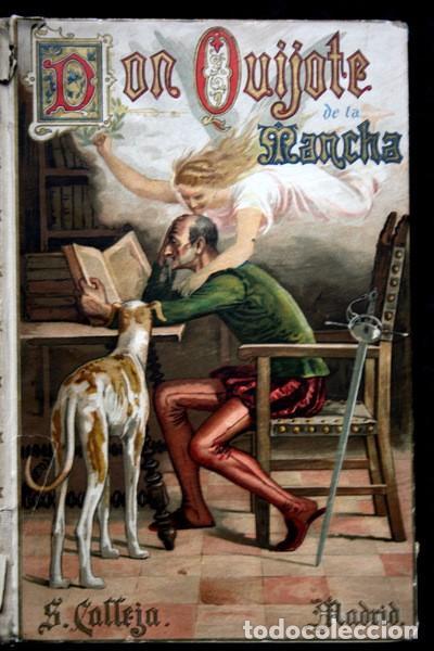 Libros antiguos: DON QUIJOTE DE LA MANCHA - CERVANTES - CALLEJA - PERLA - M. ANGEL CARRETERO - SAMPIETRO - SANTAMARIA - Foto 6 - 103121227