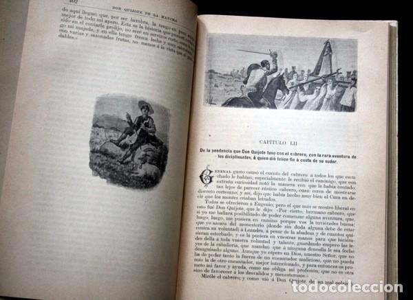 Libros antiguos: DON QUIJOTE DE LA MANCHA - CERVANTES - CALLEJA - PERLA - M. ANGEL CARRETERO - SAMPIETRO - SANTAMARIA - Foto 8 - 103121227
