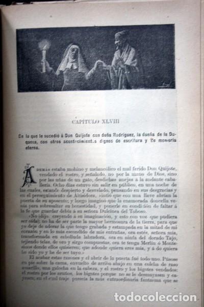 Libros antiguos: DON QUIJOTE DE LA MANCHA - CERVANTES - CALLEJA - PERLA - M. ANGEL CARRETERO - SAMPIETRO - SANTAMARIA - Foto 9 - 103121227